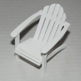 Lundby nyare Trädgårds stol vit