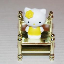 Hello Kitty Lundbystorlek gul