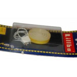 Lillbo tak eller vägg plafond gul vit i fp