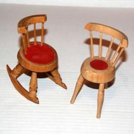 1 Stol och en Gungstol