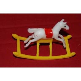Rockinghorse in plastic