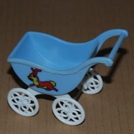 Barnvagn Plast ljusblå