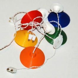 U2+ Kökslampa med lampa och kontakt
