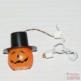 UM2+ Halloween takslampa Pumpa m hatt