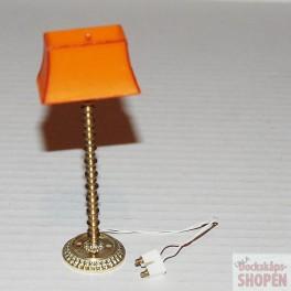 Lundby Art.Nr 6151 Exclusive golvlampa orange