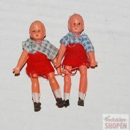 Gummidockor 2 små grabbar