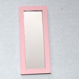 Lundby Spegel nyare modell högre rosa