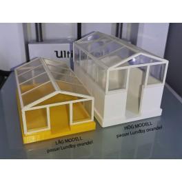 UM2+ Växthusbotten låg modell valfri färg