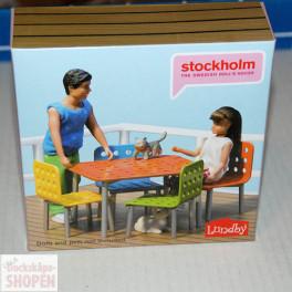 Lundby Art.Nr 609027 Stockholm Trädgårdsmöbler