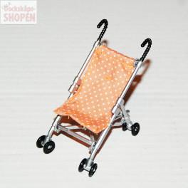 Lundby Stroller nyare orange
